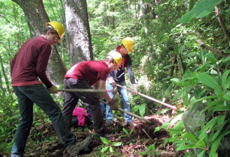 Submitted photo Campers from across the state will flock to Spruce Knob this summer to participate in a nature-based, expedition-style summer camp, where they will climb mountains, traverse caves and give back through a local stewardship project.
