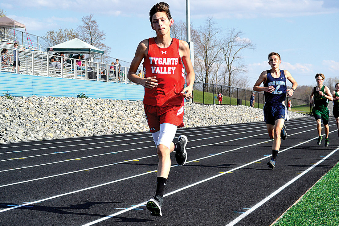 bulldogs run well at track meet news sports jobs the tygarts valley high school sophomore devan ball competes in a track meet at bc bank park