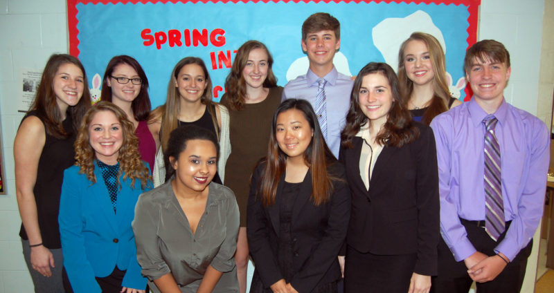 Submitted photo Members of the Philip Barbour High School FBLA Club will participate in the Barbour County Chamber of Commerce's annual banquet.
