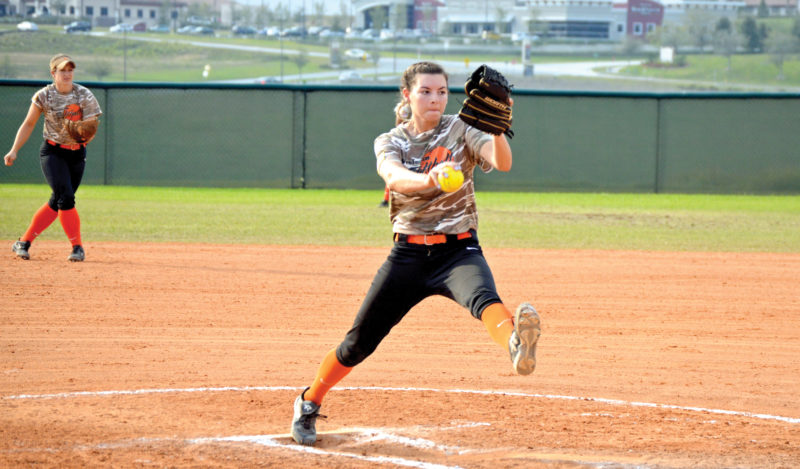 Hannah Vet, a junior, has been named the Mountain East Conference's Pitcher of the Week.