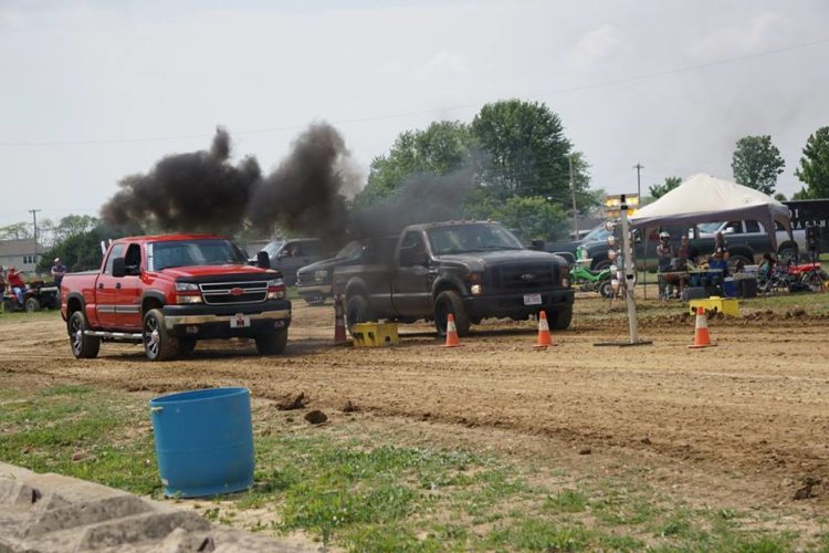 Photos Provided KOI dirt drag racing is a new event this year at the Monroe County Fair in Woodsfield.