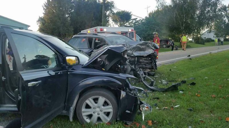 File photo - The status of victims of this crash on Ohio 149 Aug. 23 remains unknown.