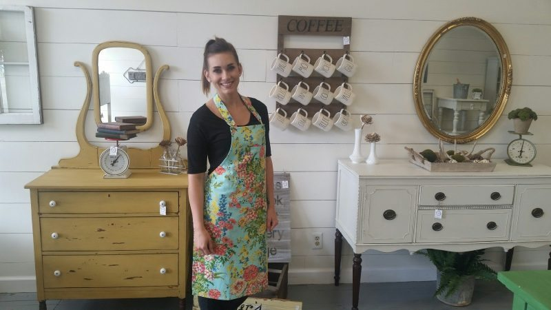 """T-L Photo/HEIDI CLARK Owner Jennifer Wahlbrink takes """"a leap of faith"""" with her new St. Clairsville shop, Timeless Charm."""