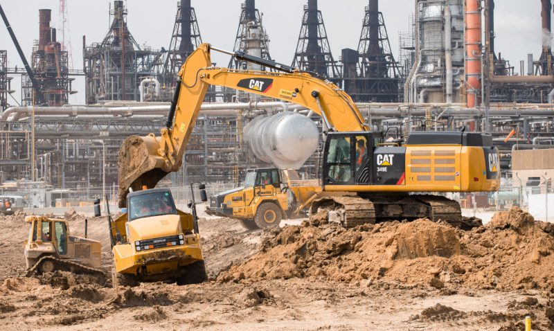 Photo Provided Global oil giant Exxon Mobil,  parent company of  Marcellus and Utica shale driller XTO  Energy, is building a multi-billion-dollar ethane cracker in  Baytown, Texas.