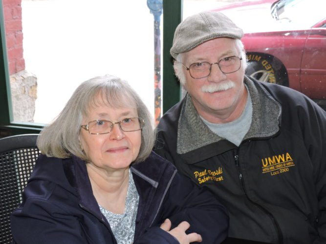 Photo by Casey Junkins McMechen couple Judy and Paul Broski agreed to disagree when it came to presidential candidates Donald Trump and Hillary Clinton.