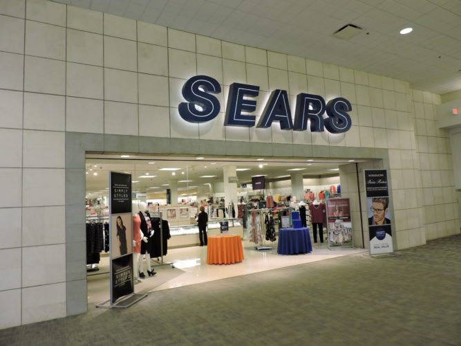 "T-L Photos/JANELL HUNTER The Sears store at the Ohio Valley Mall in St. Clairsville continues to operate, but the future of the entire chain retailer is in doubt. After years of financial losses, the company said it has ""substantial doubt"" it will be able to keep its Sears stores open."