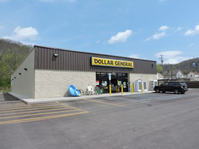 T-L Photo/JANELL HUNTER The Dollar General located in Neffs provides low prices and convenient shopping to a mostly rural population.