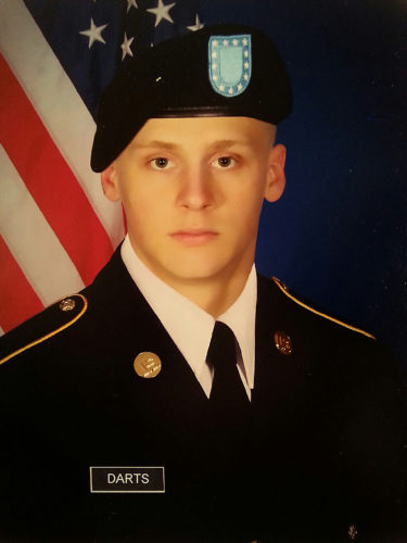 PVT Garrett C. Darts, US ARMY
