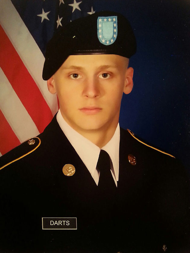 PVT Garrett C. Darts, US ARMY