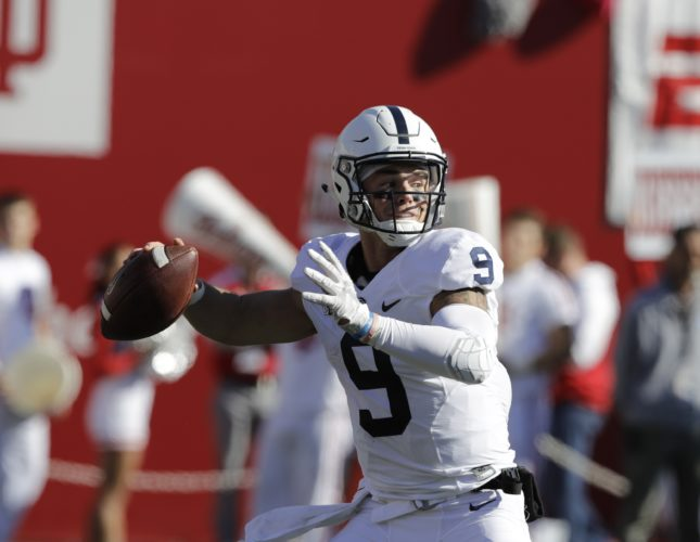 Penn State quarterback Trace McSorely has the Nittany Lions on the verge of the Big Ten East championship.