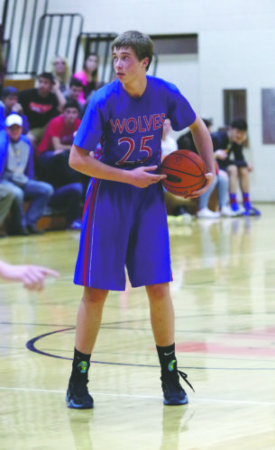 Kane's Andrew Bucheit, the 2016 District 9 Player of the Year, will look to lead the Wolves to back-to-back district titles as they bump up to 3A in 2016-17.