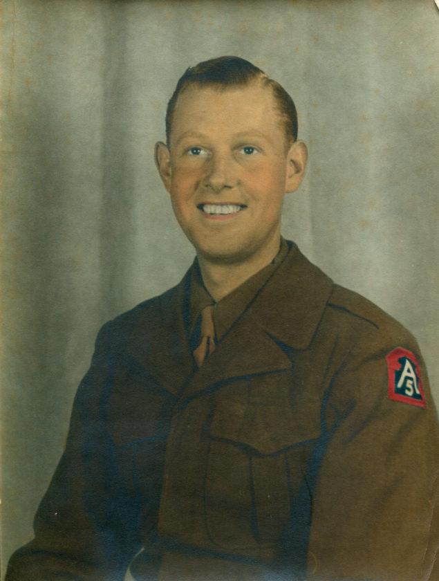 PFC Harold J. Loomis, Sr., US Army, Artillery loader