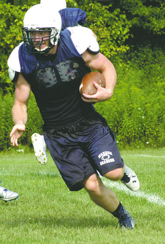 Former Warren Dragon Solomon Gross earned all-state honors for North Putnam High School in Indiana.