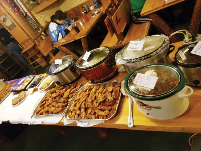 Photos submitted to Times Observer The 14th Annual Wild Game Feast was held on Sunday at the Tippy Canoe. There were over 15 dishes of wild game.