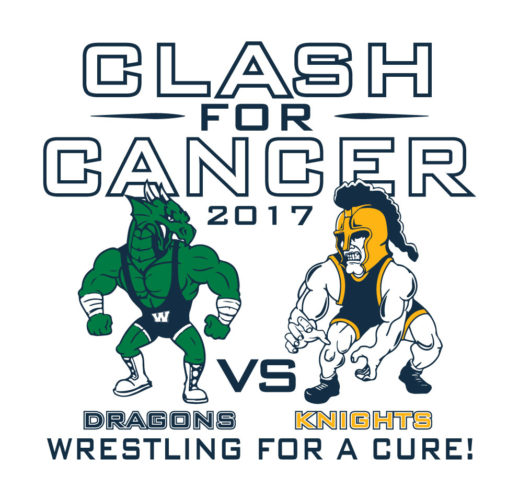 Warren and Eisenhower will be competing in the 'Clash for Cancer' on Friday.