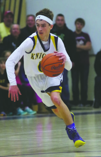 Eisenhower's Jack Reynolds scored 10 points in a big Region 3 road win over Iroquois on Friday.