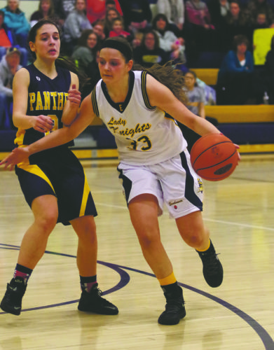 Payton Mineweaser and her Eisenhower teammates are at Rocky Grove today in the first round of the D-10 2A playoffs (7 p.m.).