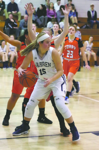 Rachel Wilson and her Warren teammates host Grove City today in the first round of the D-10 5A playoffs (3 p.m.) .