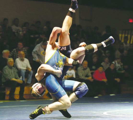 Eisenhower's Alex Barnett is one of seven Knights that advanced to the Section I 2A semifinals on Friday.