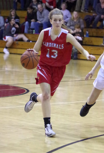 Cochranton sophomore Alissa Dickson (13) and the Region 3 Champion Lady Cardinals look to be one of the teams to beat in Class 2A.