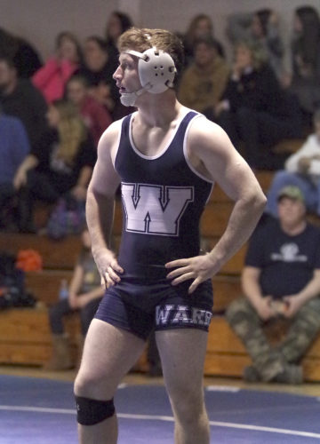 Nick DeSimone is one of 14 Warren wrestlers set to compete at the District 10 Class 3A Championships this Friday and Saturday at McDowell Intermediate High School.
