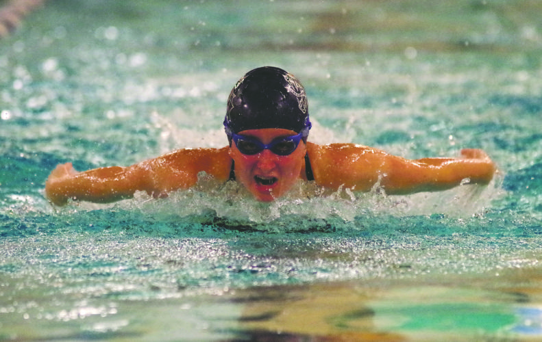 Warren senior Savannah Tichenor and her teammates embark on the 2017 District 10 swimming championships today and Saturday at the SPIRE Institute in Geneva, OH.