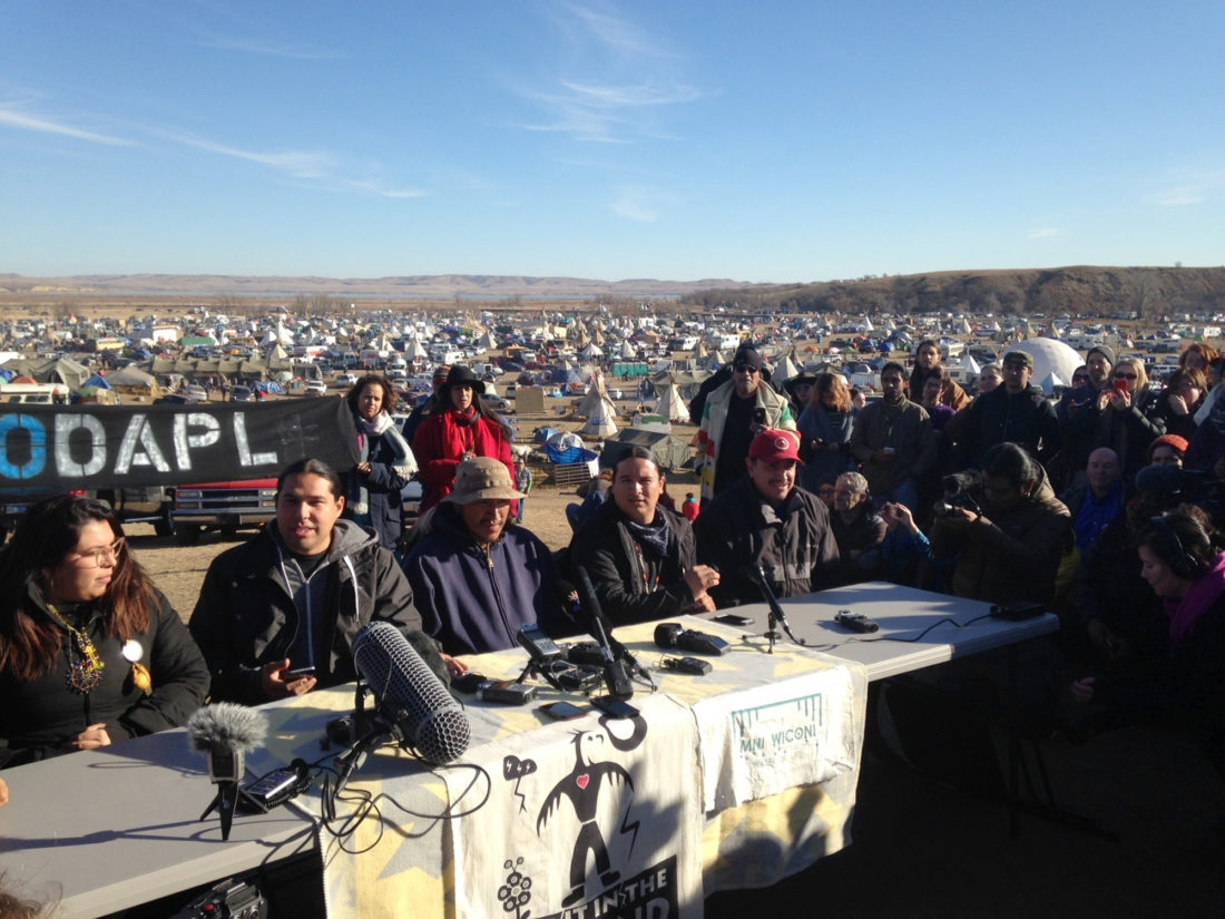 North Dakota officials: Protesters should leave federal land
