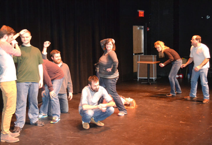 """CONTRIBUTED PHOTO The annual """"Instant Comedy — Just Add Spam"""" improvisation comedy show returns to the Orpheum Theater Center Black Box Theater, with a workshop running Dec. 27, 28  and 29 at 6:30 p.m. (free to the public), with performances on Dec. 30 and 31 at 7:30 p.m., tickets cost $12.50."""
