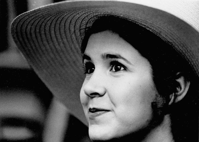AP PHOTO This May 2, 1973 file photo shows Carrie Fisher, the 16-year-old daughter of Debbie Reynolds and Eddie Fisher, in New York.