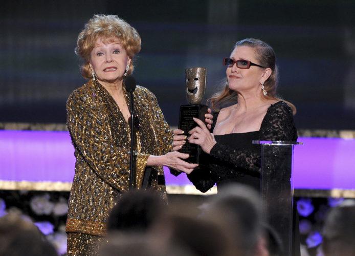 Debbie Reynolds, Carrie Fisher