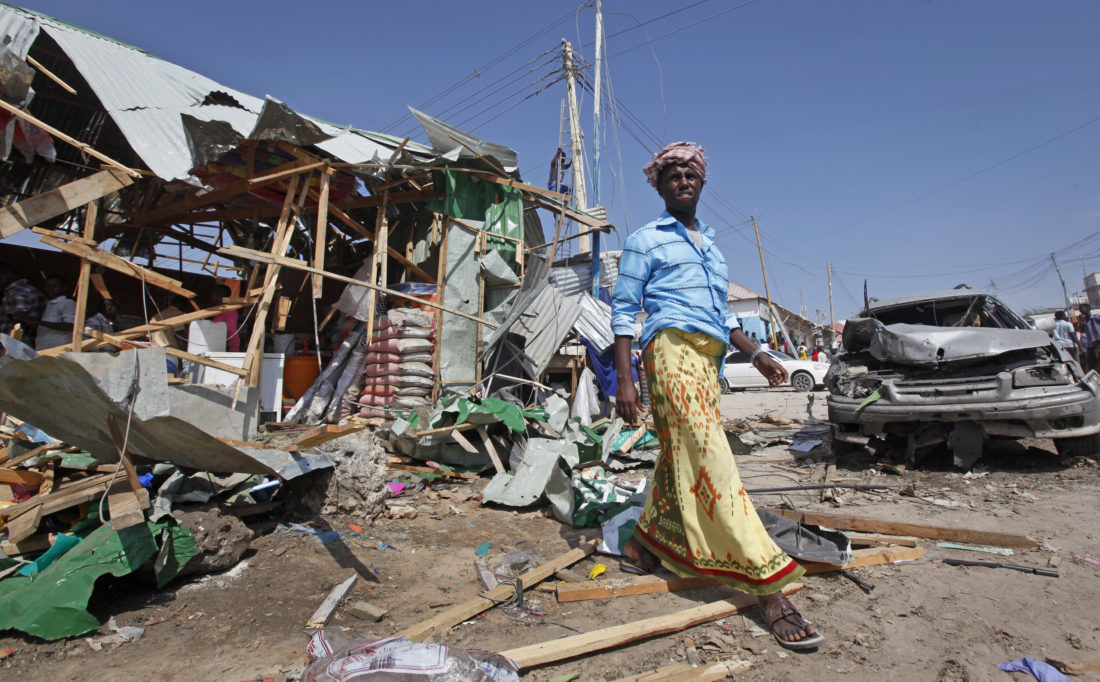 At least 39 killed, 50 wounded in car bomb blast in Somalia's ...