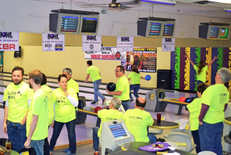 T-R FILE PHOTO The Heart of Iowa Big Brothers Big Sisters Bowl For Kids' Sake fundraiser will be held Saturday, March 4 with bowling from 7-9 p.m., and Saturday, March 18, with bowling from 4-6 p.m. and 7-9 p.m. at Totem Bowl, located at 1101 S. 6th Street. Money raised goes to help fund the organization's mentoring efforts.