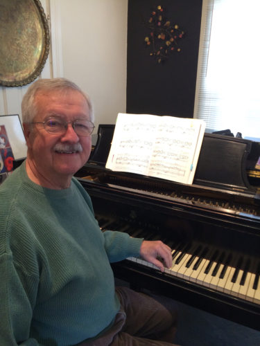 Contributed photo John Devlin, pictured, will present Keyboard Music of J. S. Bach on March 11 as part of the Saturday Evening Arts series at Hope United Methodist Church, in Marshalltown.