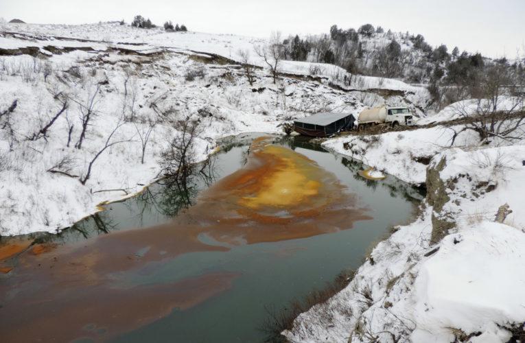Oil Pipeline Belle Fourche Leak