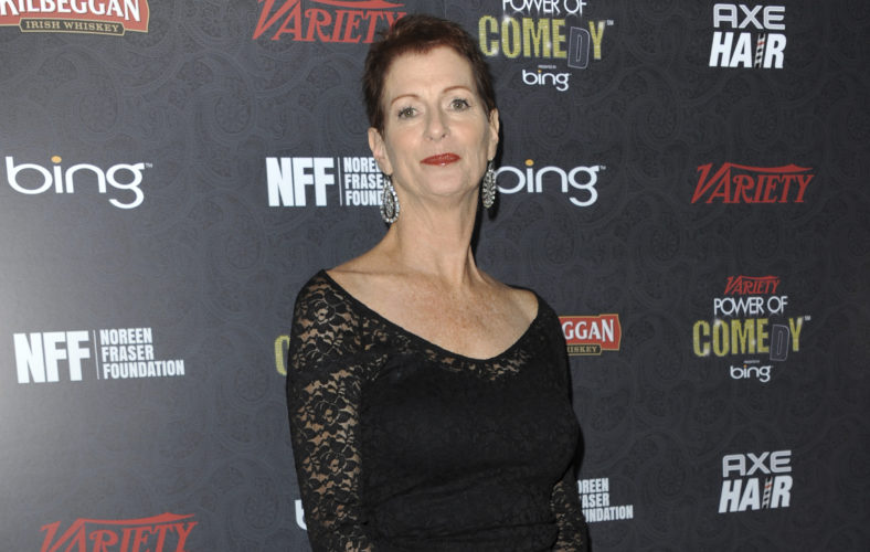 AP PHOTO In this Nov. 17, 2012 file photo, Noreen Fraser arrives at Variety Power of Comedy at Avalon Hollywood in Los Angeles. The family of Noreen Fraser, a TV producer and co-founder of Stand Up to Cancer, says she has died at age 63.