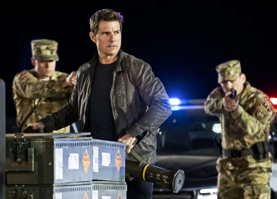 "In this image released by Paramount Pictures and Skydance Productions, Tom Cruise appears in a scene from, ""Jack Reacher: Never Go Back."" (Chiabella James/Paramount Pictures and Skydance Productions via AP)"