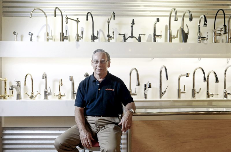 AP  Ken Wertz is president of Wilkinson Supply in Raleigh, N.C. The company sells kitchen, bathroom, plumbing and decorative items. Small businesses such as Wilkinson Supply are preparing for an impending change in overtime.