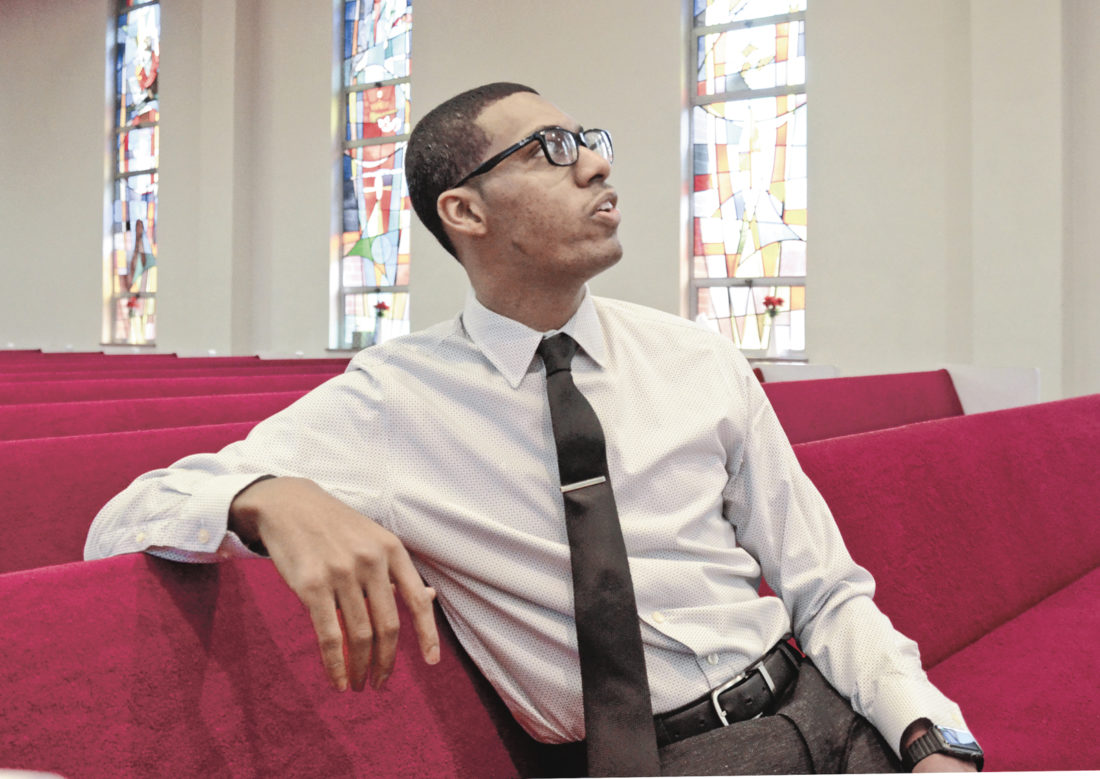 Tribune Chronicle / R. Michael Semple The Rev. Todd Johnson, pastor of Second Baptist Church in Warren, said recently that he would like to see the number of African-American churches in Trumbull County reduced to increase the impact of the remaining churches.