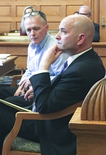 DeWeese in court