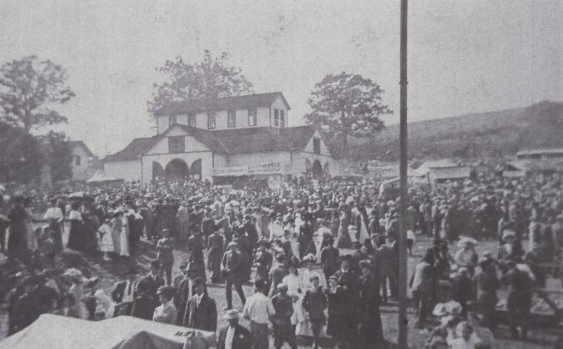 HISTORIC CRIME — The Burgettstown Agricultural Fair was the scene of exhibits, picnics, harness races — and murder. In October 1891, Martin Reed poisoned Alexander Chappel while the two friends were on their way home from the fair, quite possibly because Reed had fallen in love with Chappel's wife. Retired Observer-Reporter Editor Parker Burroughs gave a presentation on the murder at the Jefferson Township Historical Society meeting Saturday. -- Contributed