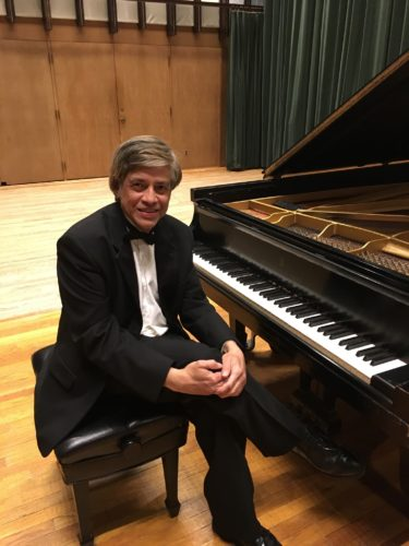 IN  CONCERT AT WLU — Harsha D. Abeyaratne, a pianist and music professor at Muskingum University, will perform in concert at West Liberty University at 7:30 p.m. Tuesday in College Hall. -- Contributed