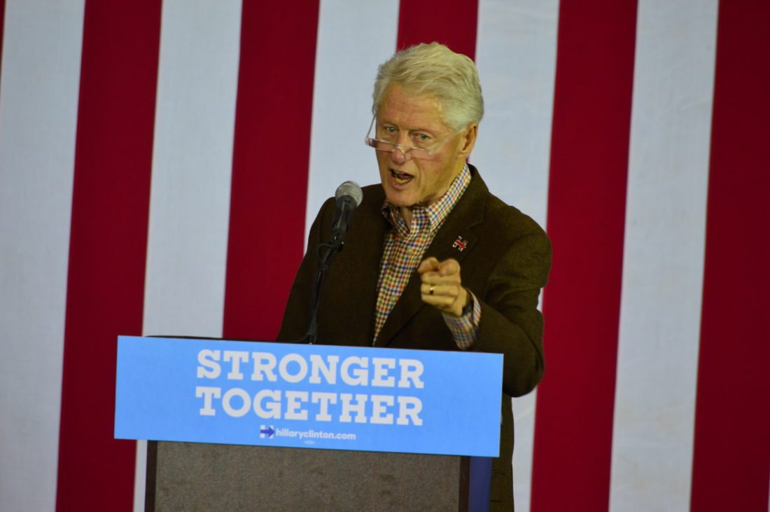 Bill Clinton's History of Verbal Campaign Missteps