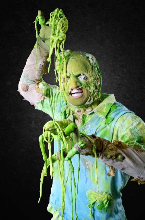 """Evan Ruggiero stars as Toxie in """"The Toxic Avenger"""" running through Dec. 18 at the Pittsburgh Civic Light Opera's Cabaret, 655 Penn Ave. For tickets, go to www.pittsburghclo.org or call (412) 281-3973 — Contributed"""