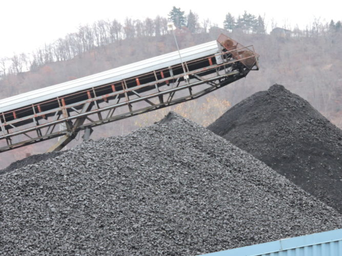 FirstEnergy Corp. plans to send coal ash waste from its Bruce Mansfield Plant in Shippingport, Pa. to a Murray Energy Corp. reclamation site near Moundsville. -- Casey Junkins