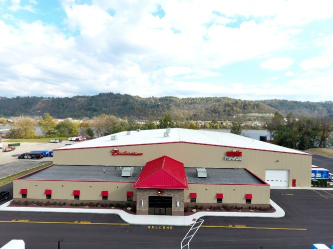Muxie's Distributing's new state-of-the-art facility is in North Bellaire.  — Contributed