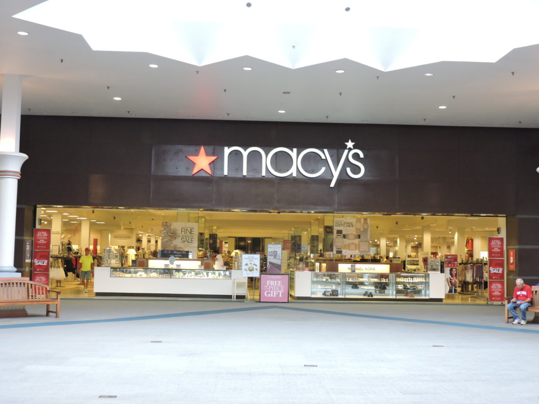 Macy's (originally R. H. Macy & Co.) is an American department store chain founded in by Rowland Hussey Macy. It became a division of the Cincinnati -based Federated Department Stores in , through which it is affiliated with the Bloomingdale's department store chain; the holding company was renamed Macy's, Inc. in