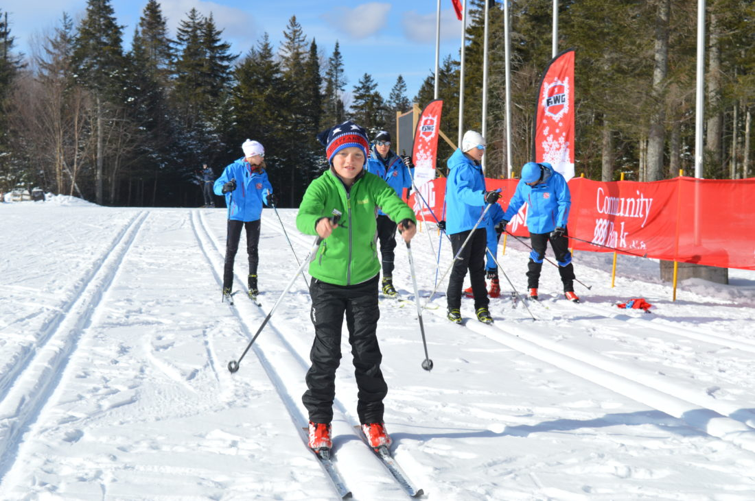 let the empire state winter games begin news sports jobs twelve year old peter of bariloche gets a head start cross
