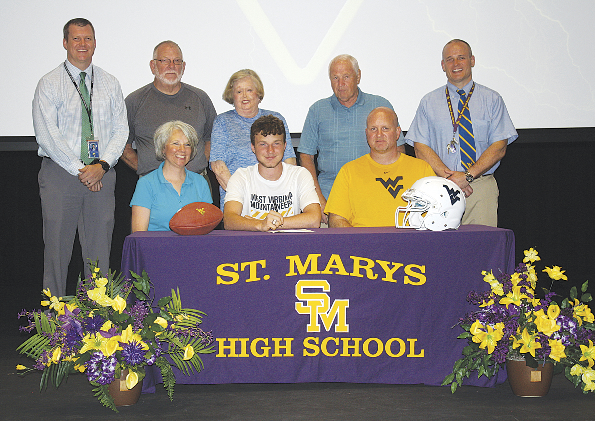 St. Marys' Billeter inks with WVU | News, Sports, Jobs ...